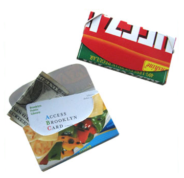 Business card holder example