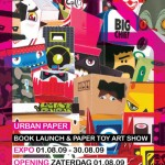 URBAN PAPER book launch paper toy art show