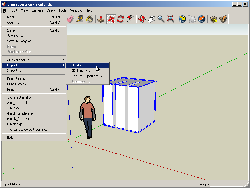 How to create your own papertoy using Google Sketchup and Pepakura