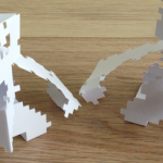 Openfl papertoy art project