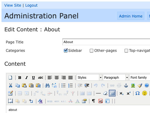 content management system using php and mysql pdf