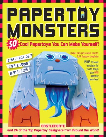 Papertoy Monster - book cover