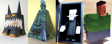 Other papercraft by Sjors Trimbach
