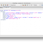 Haxe IDE for OSX: Monodevelop 3.0