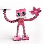 Custom papertoy: Flowerr Kidd