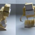 Creating papercraft: Grumm – update