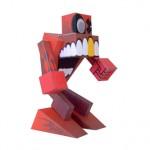 Grumm the Screamer – Red