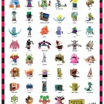 Papertoy monsters poster