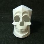 Papercraft project: skull